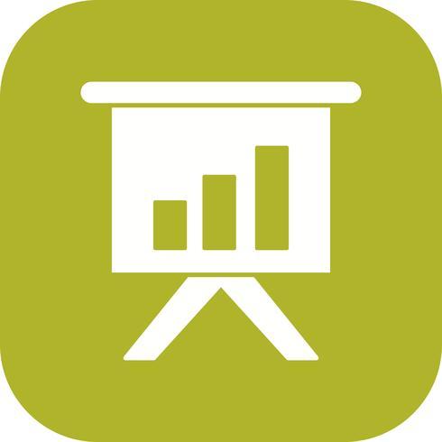 Business-Präsentation-Vektor-Symbol