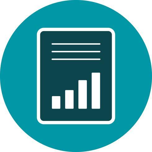 Buchhaltung-Vektor-Symbol