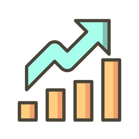 Wachstum Vektor Icon