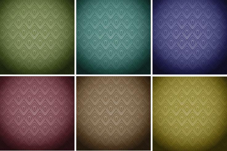 Behangtegels in kleuren
