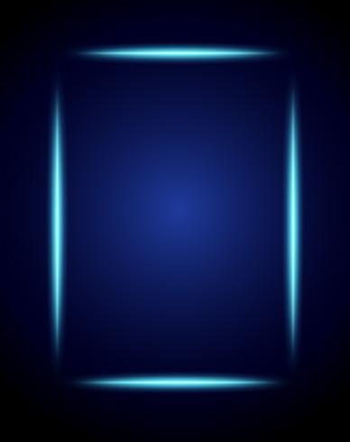 Um fundo azul abstrato