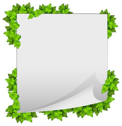 Um, verde, natureza, folha, quadro