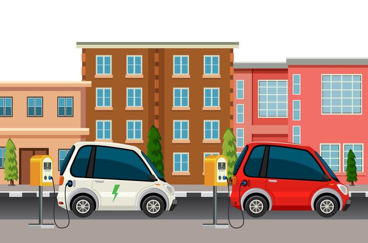 Opladen van elektrische auto's