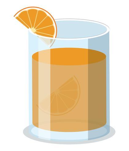 Bicchiere di succo di organetto