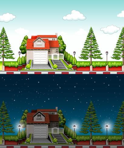 Casa privata al giorno e notte