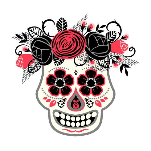Dia de los muertos Dia de los Muertos. Elemento de diseño vectorial