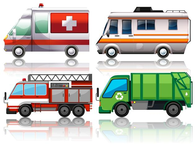 Different types of trucks