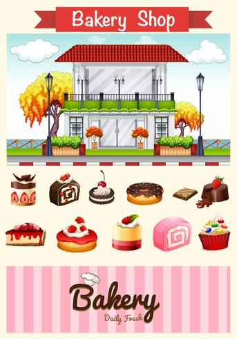 Bageri och desserter