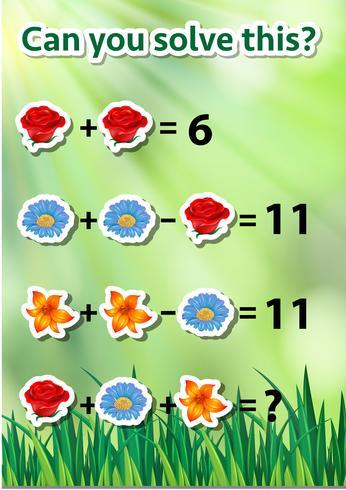 Math problem solving worksheet