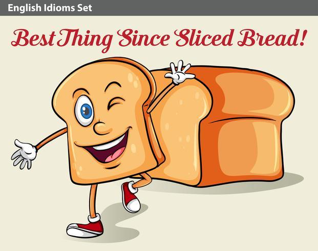 Un pan rebanado
