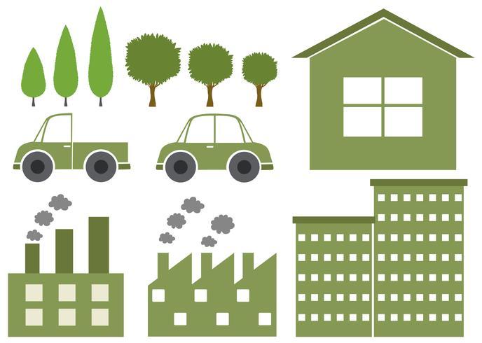 Diseño de logotipo con temática ambiental.