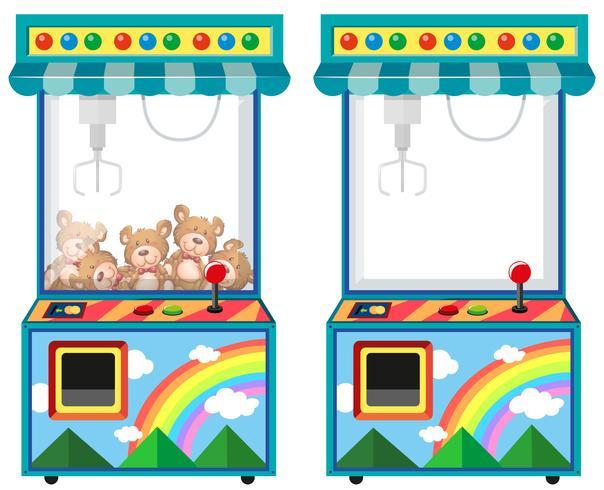 Macchina da gioco arcade con bambole