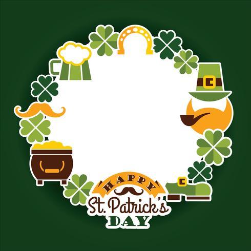 St. Patricks Day Baskground.