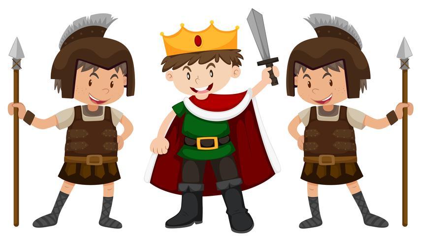 Prince och två riddare