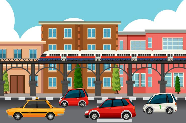 Modern town transportation systems - Download Free Vector Art, Stock Graphics & Images