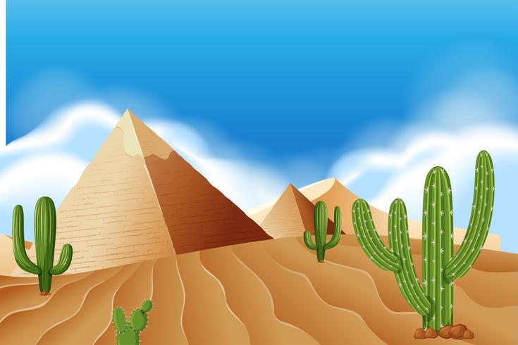 Pyramide au désert