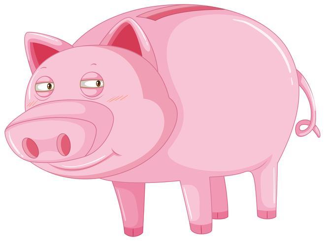 Schwein mit schläfrigen Augen