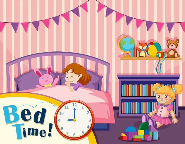 Tempo de cama jovem
