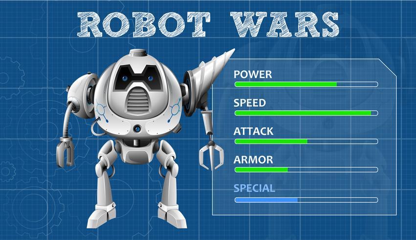 A Modern Robot Game Template