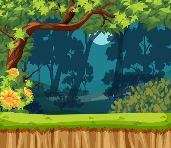 A beautiful nature landscape - Download Free Vector Art, Stock Graphics & Images