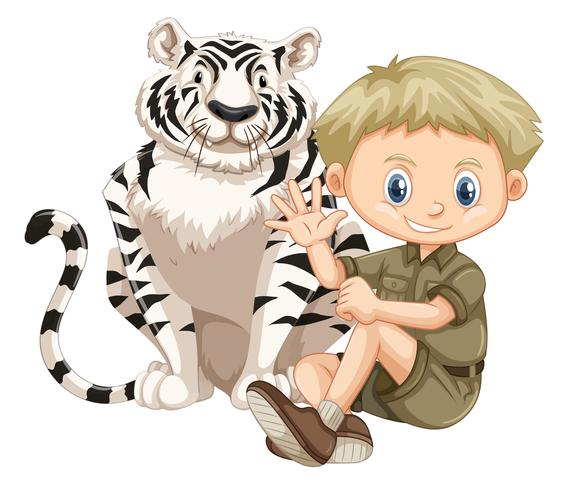 Un Safari Boy y Tiger