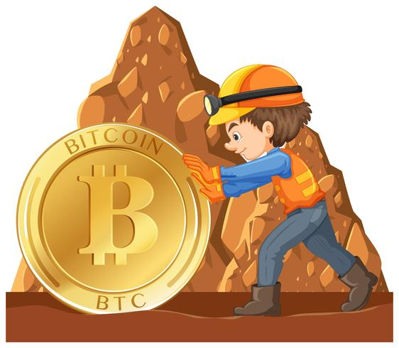 A Worker Mining Cyber Coin