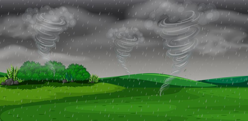 A storm at night - Download Free Vector Art, Stock Graphics & Images