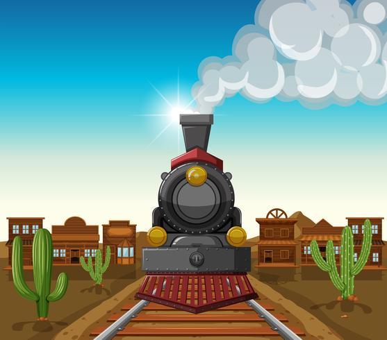 Viaggio in treno nella città del deserto