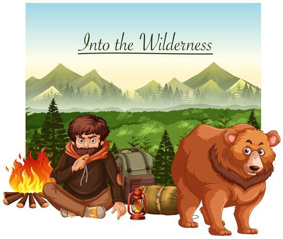In i vildmarken