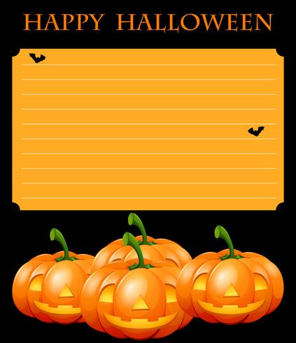 Sjabloon Halloween.Papieren Sjabloon Met Halloween Thema Download Gratis