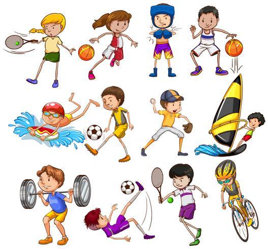 sporter vektor