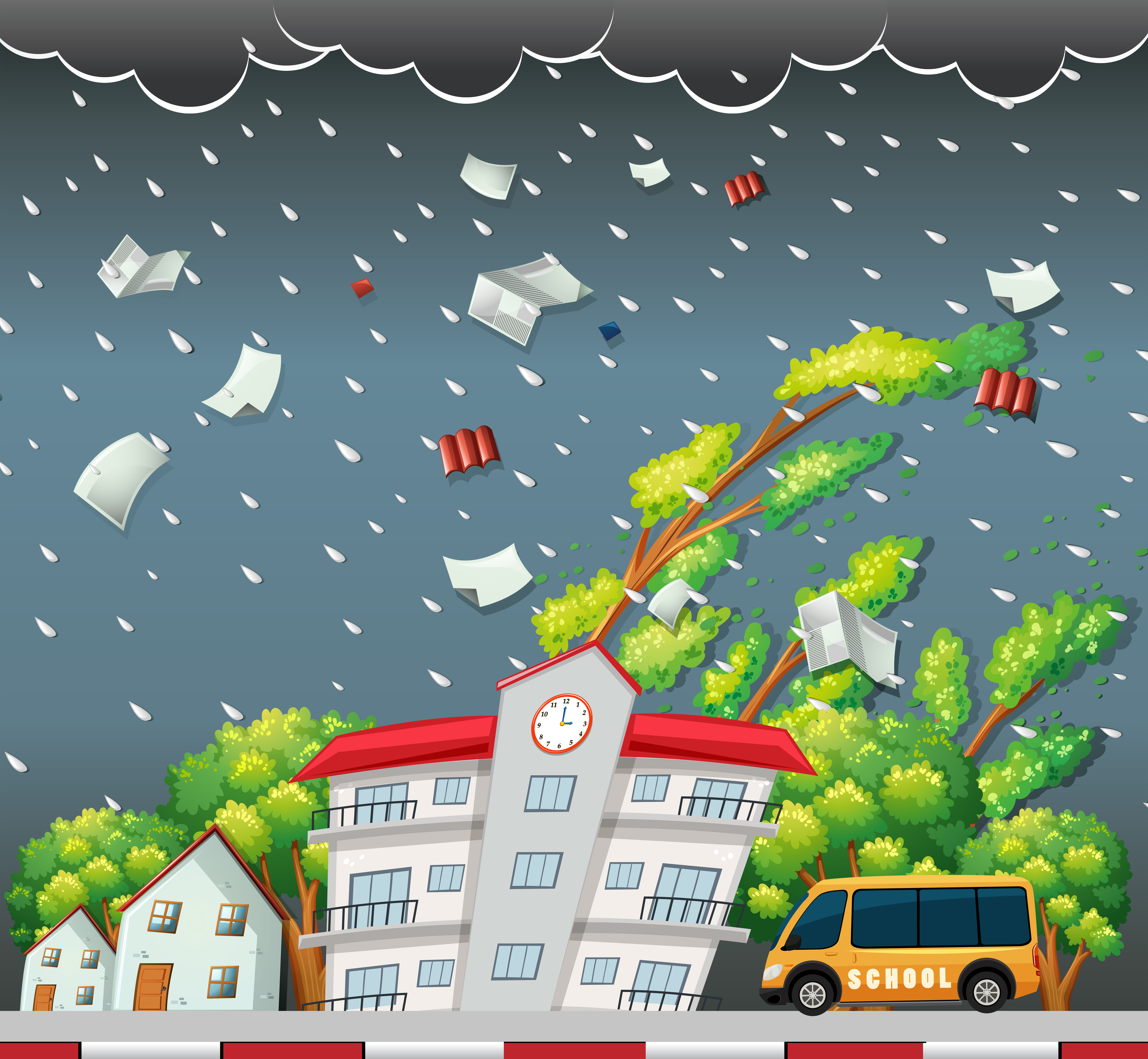 Tree Wind Free Vector Art 23 122 Free Downloads