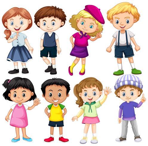Sats av internationella barn