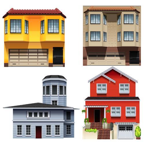 Projetos de construção diferentes