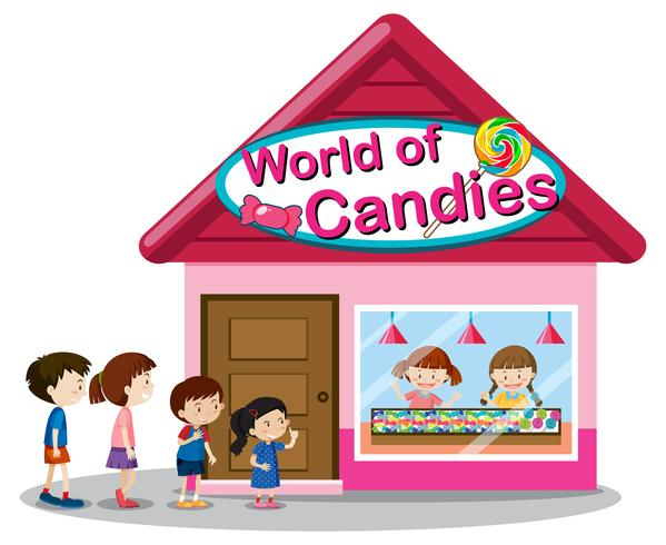 Loja de doces do mundo