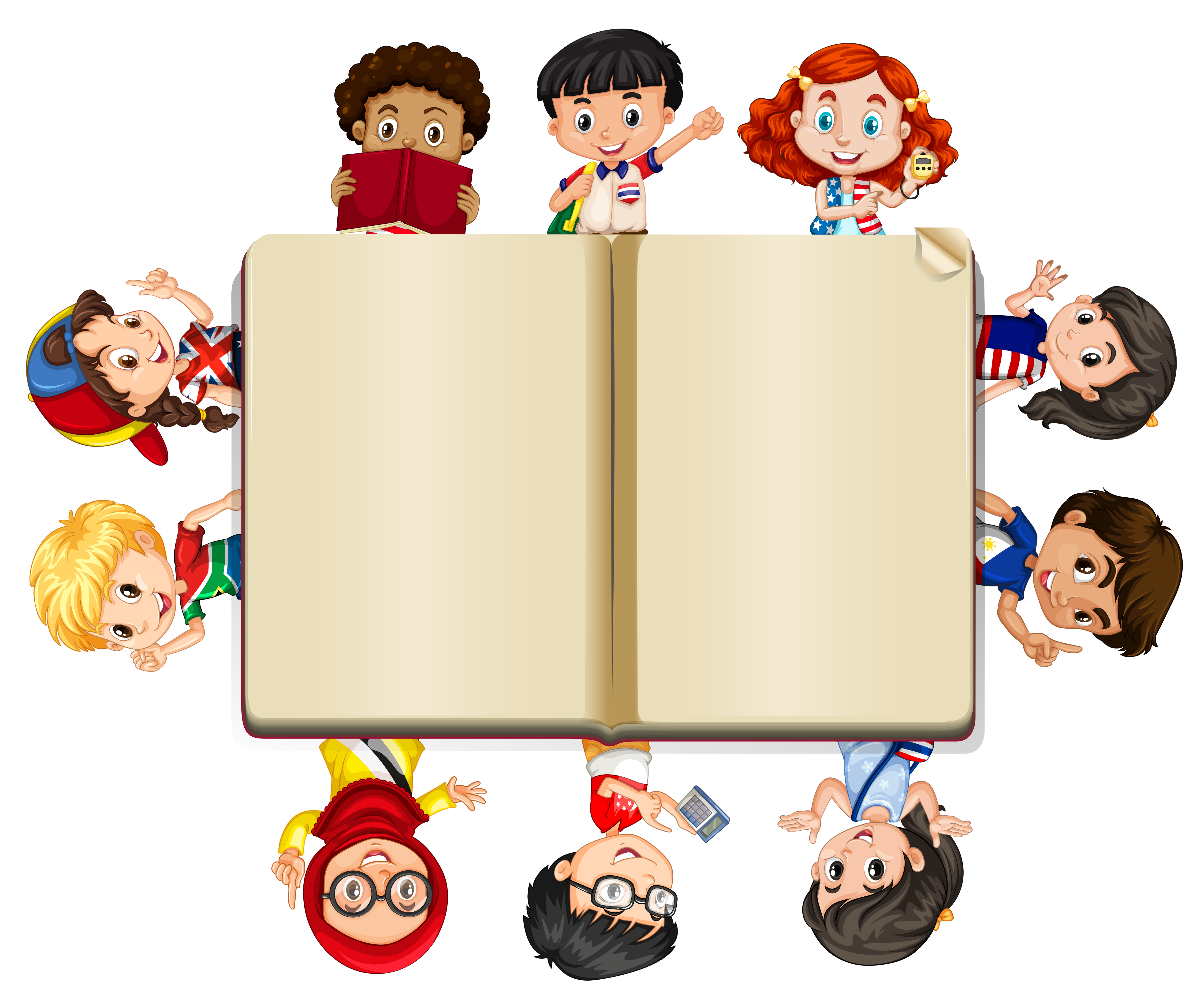 blank children vector lots books clipart vectors ai edit ago resources preview