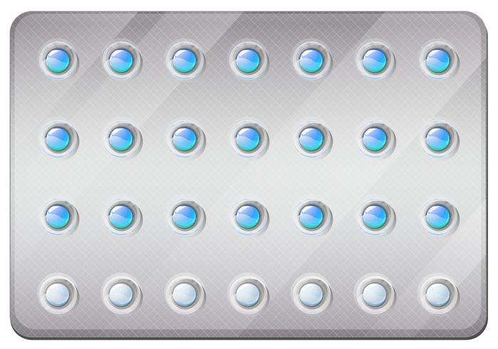 Pílulas anticoncepcionais no pacote