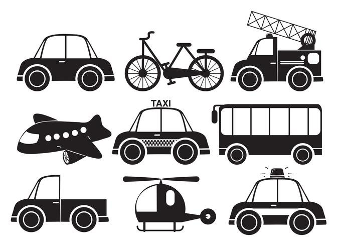Different type of vehicles