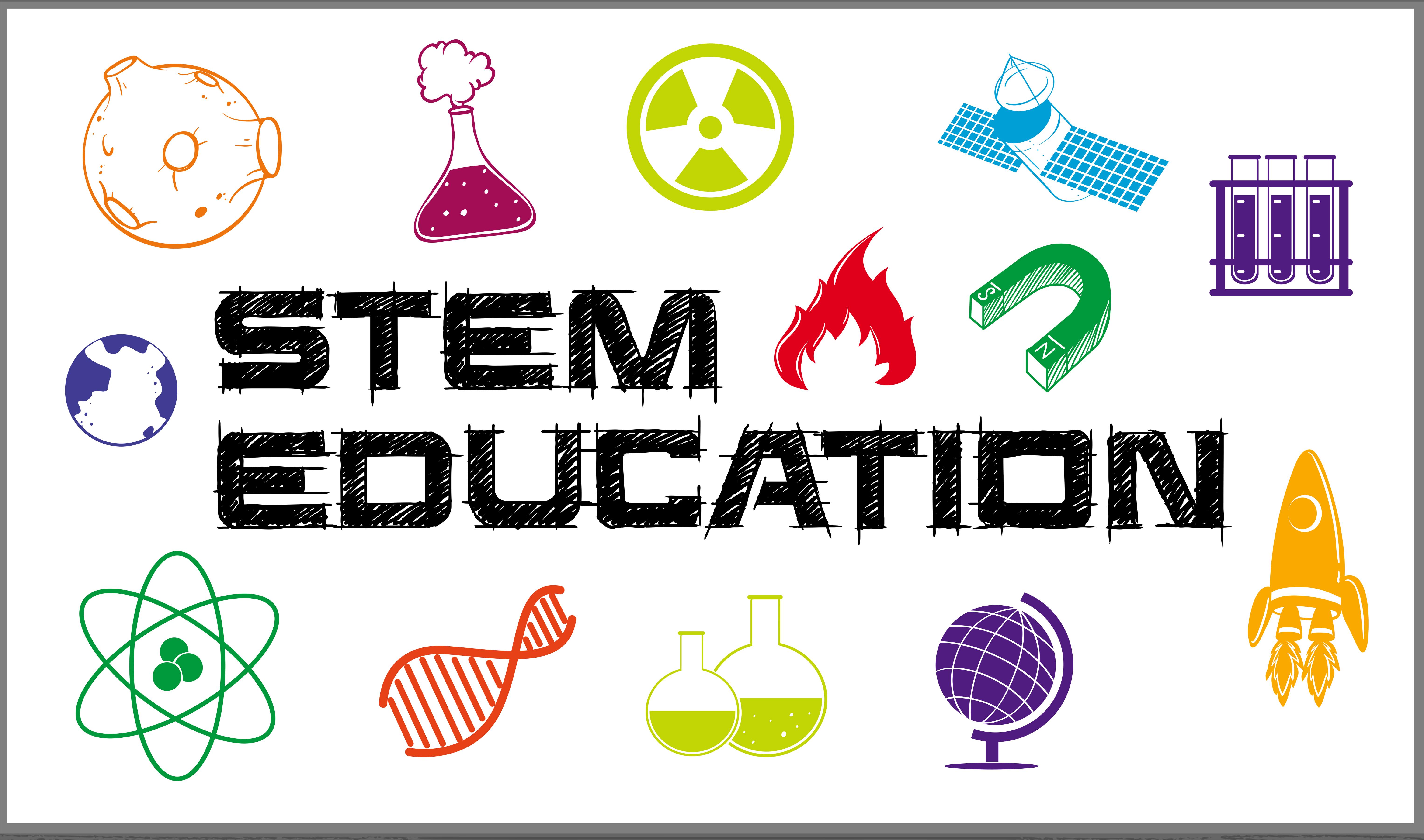 Poster design for stem education - Download Free Vectors ...