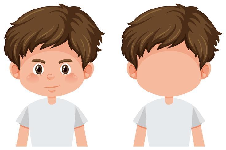 Sats med pojkens karaktär