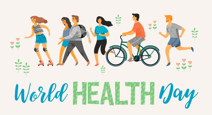 Giornata mondiale della salute. Uno stile di vita sano.