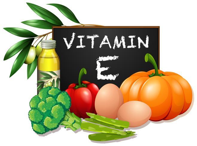 Alimenti con vitamina E