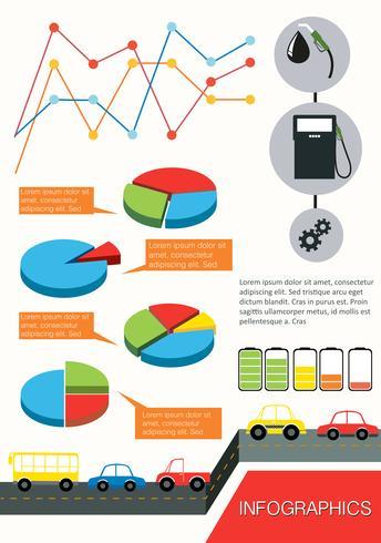 Infografiken der Fahrzeuge