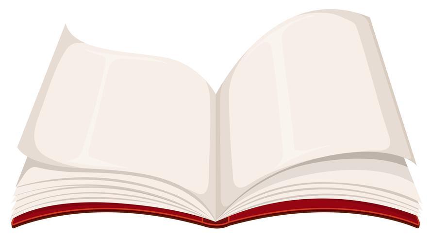 Un Livre Ouvert En Blanc Telecharger Vectoriel Gratuit