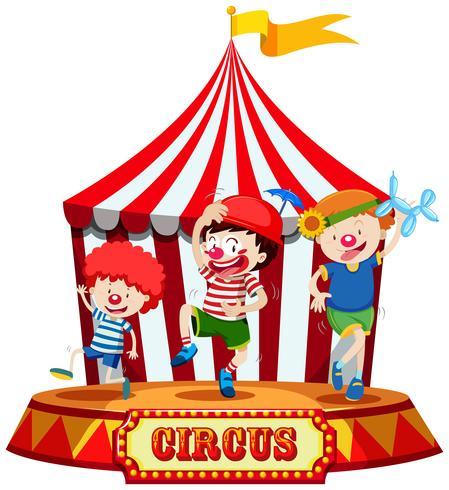 Kinderen op Circus Stage