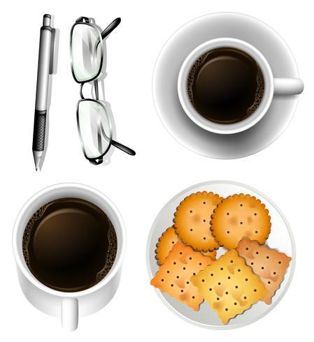 Biscuits et café