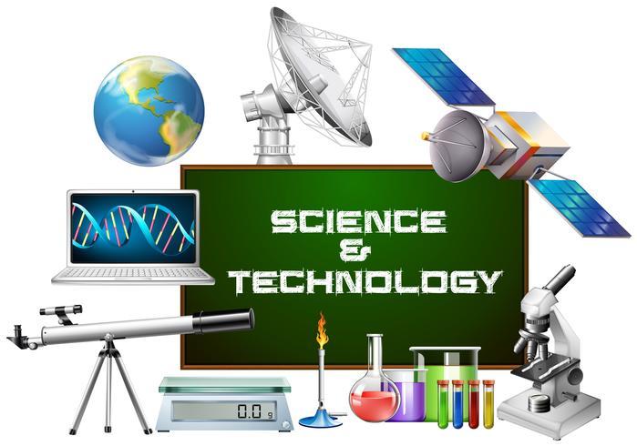 Vetenskap och teknik utrustning