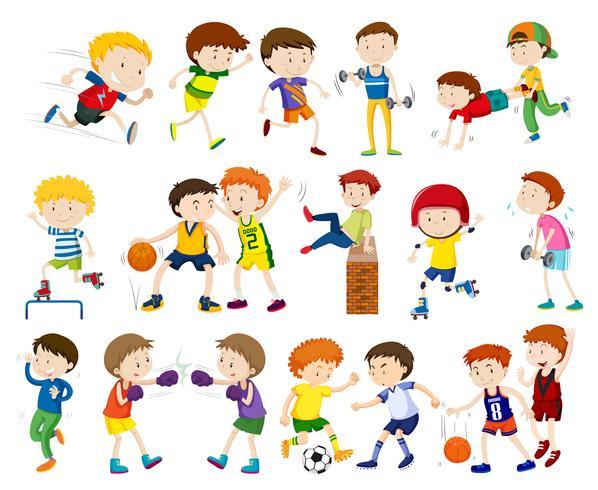 Um conjunto de atividades infantis