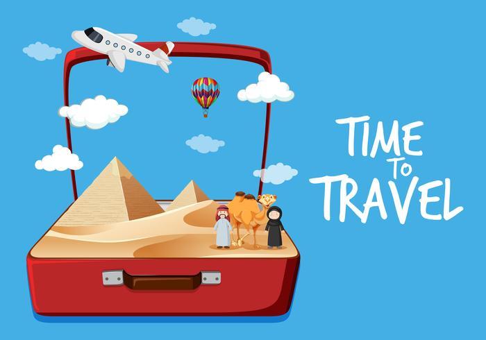 Reise nach Ägypten Wüste