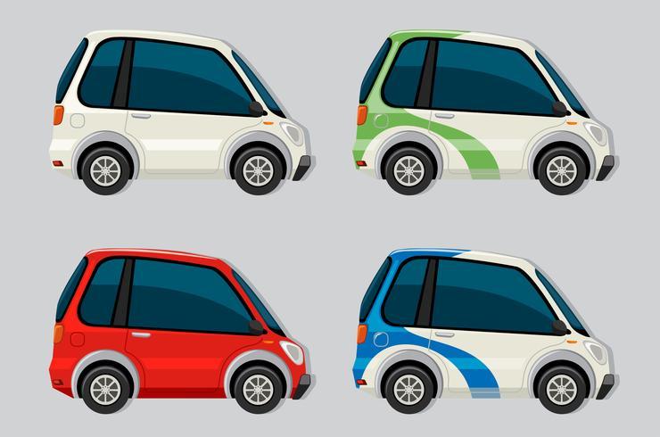 Set of electric car